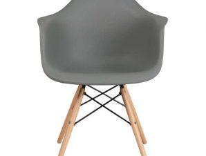Καρέκλα Casual 65x64x79cm Grey 630-00-006