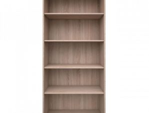 """Βιβλιοθήκη """"REG"""" σε χρώμα σονόμα-δρυς 80x33x183"""