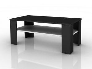 """Τραπέζι σαλονιού """"CITY"""" σε χρώμα βέγγε-λευκό 100x50x40"""