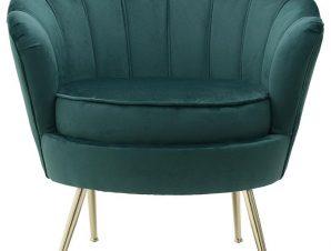 Πολυθρόνα Βελούδινη inart 78×78εκ. 7-50-045-0023 (Υλικό: Μεταλλικό, Ύφασμα: Βελούδο, Χρώμα: Μαύρο) – inart – 7-50-045-0023