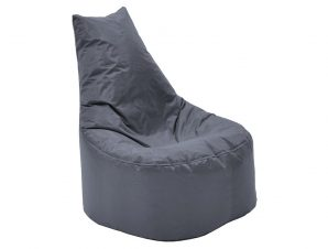 """Πουφ πολυθρόνα """"NORM PRO"""" υφασμάτινο σε χρώμα γκρι 70x60x75"""