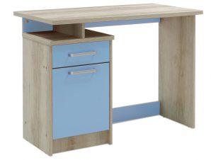 Γραφείο παιδικό «LΟΟΝΕΥ» σε χρώμα castillo-μπλε 100x55x75
