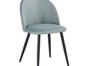 Καρέκλα Bella ΕΜ757,20 50x57x81cm Black Green