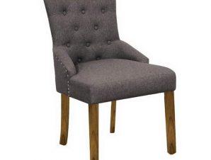 Καρέκλα Bocca Ε7702,1 56x63x93cm Natural-Brown