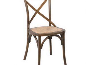 Καρέκλα Destiny Ε7020,2 48x52x89cm Beech Walnut