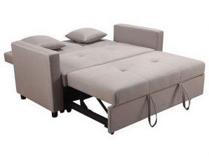 Καναπές – Κρεβάτι Διθέσιος Imola Ε9921,23 154x100x93Κρεβ130x190x44cm Cappuccino