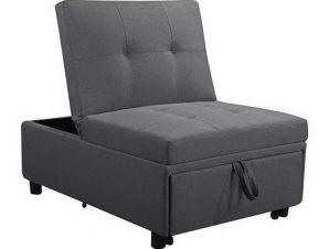 Πολυθρόνα – Κρεβάτι Imola Ε9921,01 75x106x90/75x172x44cm Light Grey