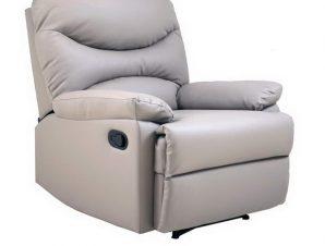 Πολυθρόνα Relax Luisa Ε9780,5P 80x90x99cm Cappuccino