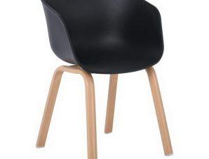 Πολυθρόνα Optim ΕΜ140,2Μ 54x51x79cm Natural-Black