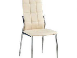 Καρέκλα Prima ΕΜ900,2 45x52x100cm Chrome-Ecru