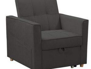 Πολυθρόνα – Κρεβάτι Symbol Ε9930,11 82x93x90 – 60x175x46cm Anthracite