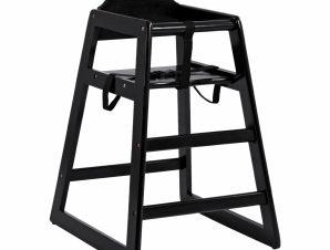 Καρεκλάκι Παιδικό Φαγητού Ξύλινο Μαύρο 51x50x75εκ. Freebox FB90166.03 (Υλικό: Ξύλο, Χρώμα: Μαύρο) – Freebox – FB90166.03