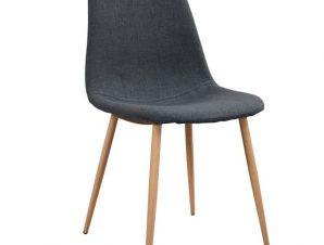 Καρέκλα Μεταλλική-Υφασμάτινη Γκρι 45x54x84Υεκ. Freebox FB900100.10 (Υλικό: Μεταλλικό, Χρώμα: Γκρι) – Freebox – FB900100.10