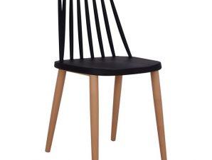 Καρέκλα Τραπεζαρίας Μεταλλική Μαύρη 43×46,5×82εκ. Freebox FB98052.02 (Υλικό: Μεταλλικό, Χρώμα: Μαύρο) – Freebox – FB98052.02