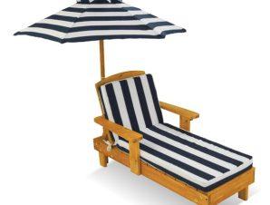 Ξαπλώστρα KidKraft Outdoor Chaise with Umbrella