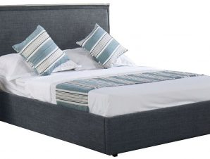 Επενδυμένο κρεβάτι Jean