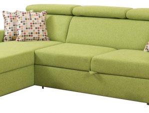 Γωνιακός καναπές Ledima