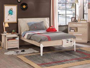 Παιδικό κρεβάτι ημίδιπλο D-1302 USB CHARGING