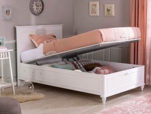 Παιδικό κρεβάτι με αποθηκευτικό χώρο RO-1707