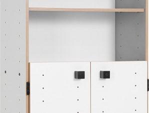 Βιβλιοθήκη Smart με πόρτα